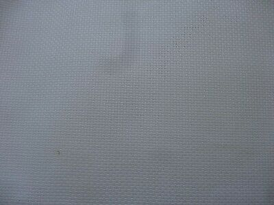 """WHITE AIDA 14 COUNT 11"""" x 15"""" NEW SUITABLE FOR MEDIUM SIZED PROJECTS"""