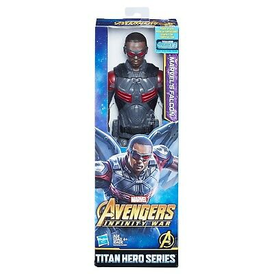 Marvel Avengers Infinity War Titan Hero Series Marvels Falcon with Power FX Port