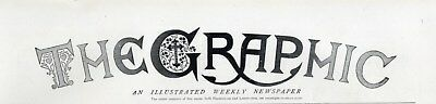 1915 THE GRAPHIC Newspaper WW1 WARSAW BATTLE Earthquake Sora Italy YPRES (8532)