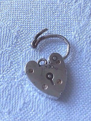 Lock Clasp English Sterling Silver 1960s