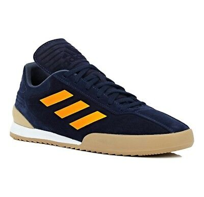 huge selection of d0af2 dd330 $250 ADIDAS X GOSHA RUBCHINSKIY GR Copa Super Suede Blue Sneakers Size 8
