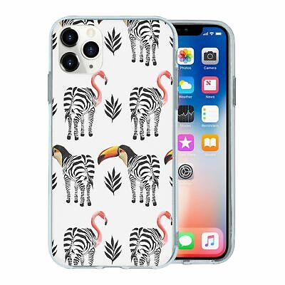 Silicone Phone Case Back Cover Mirror Animal Print - S9606