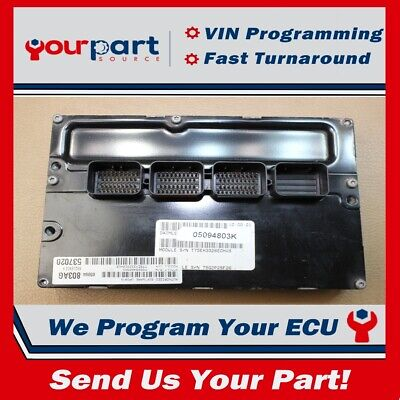 2004 JEEP LIBERTY 3 7L Engine Computer Control Module ECM