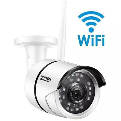 1080P Wifi IP Camera Onvif 2.0MP HD Outdoor Weatherproof Infrared Night Vision