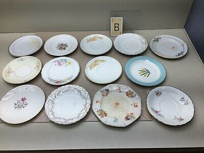 Vintage Lot Of Mismatched China- Salad/Luncheon/Saucers Plates