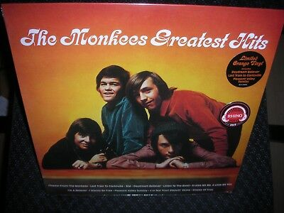The Monkees *Greatest Hits (syeor Exclusive 2019) *NEW ORANGE RECORD LP VINYL