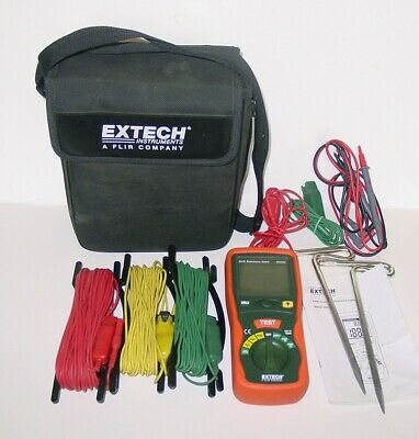 Extech Earth Ground Resistance Tester 382252, Meter, NICE!