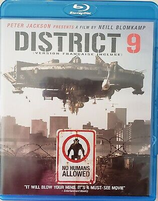 District 9 (Blu-ray Disc, 2009) Bilingual  Free Shipping