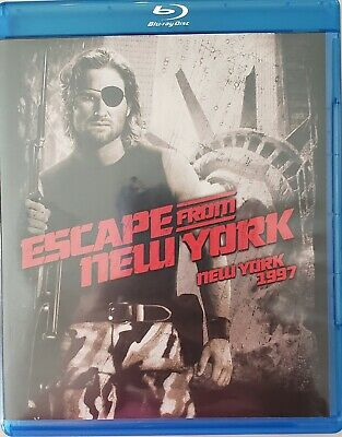 Escape From New York Blu-Ray Bilingual  Free Shipping in Canada