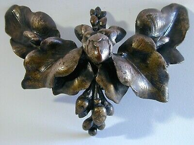 Unusual Antique Italy or France, Italian French, Silvered Silver Bronze - Signed