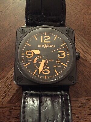 free shipping 62c83 5269e BELL & ROSS BR 01-97 - Power Reserve Commando Limited 500 ...