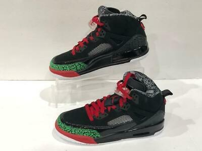 separation shoes efbc9 695ec Nike Jordan Spizike OG Shoe Black Green Red 317321-026