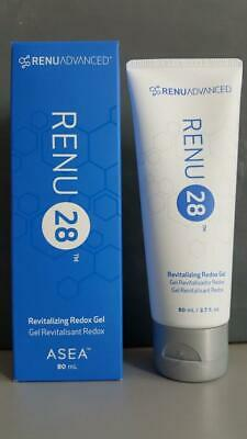 ASEA Renu Advanced Renu28 Renu 28 Revitalizing Redox Gel NEW! Exp 10/20! 2.7 oz