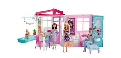 Barbie Fully Furnished Doll House - BARBIE