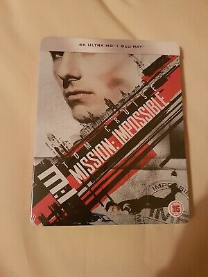 Mission Impossible 1 (Limited Edition Steelbook - 4K Ultra HD and Blu-Ray) [UHD]