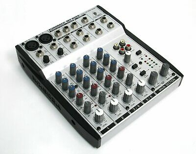 BEHRINGER EURORACK MX602A ULN Ultra-Low Noise Design 6-Channel Mic/Line  Mixer