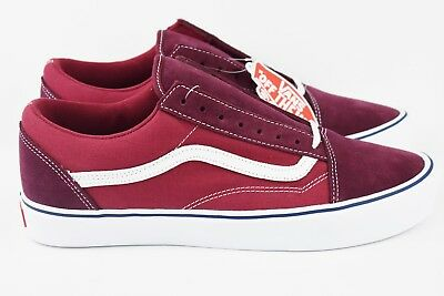 014ab2d36c3 Vans Old Skool Lite Throwback Port Royale mens Size 12 Shoes Tibetan Red