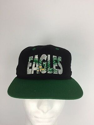 13d1650d4a1 Vtg Philadelphia Eagles Snapback Hat Cap One Size USA Made No 1 Apparel