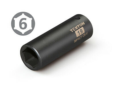 19 mm Deep Impact Socket 1/2 in. Drive (6-Point)