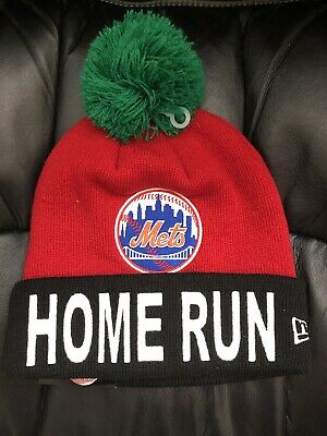 1096d8839f826c New York Mets Home Run Apple Beanie Hat New Era The7Line The 7 Line Army NWT