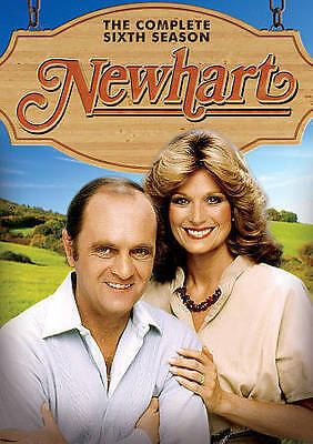 Newhart: The Complete Sixth Season (DVD, 3-Disc Set). Factory Sealed.