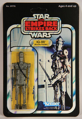 L008177 Star Wars ESB Custom Card 1980 / Action Figure / IG-88 - Bounty Hunter