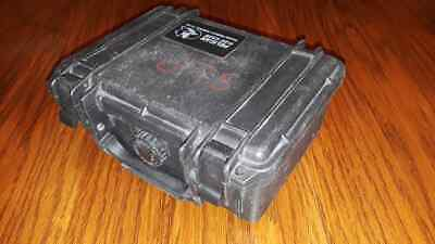 "Pelican 1120 Dry Case w/Foam for Camera Black 8""x6""x3.75"" Used Free Shipping"