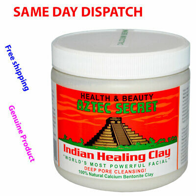 Aztec Indian Healing Clay Facial Deep Pore Cleansing Mask 454g Genuine