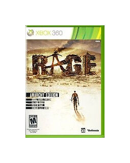 Rage -- Anarchy Edition (Microsoft Xbox 360, 2011) 3 DISC SET  COMPLETE    FAST