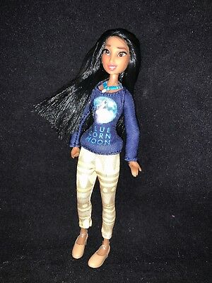 Disney Store Pocahontas Casual Princess Ralph Breaks the Internet Mini Doll