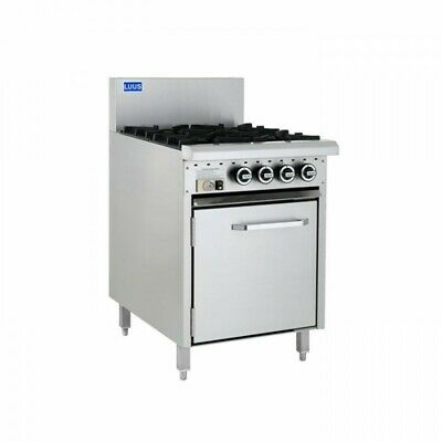 LUUS Essentials 4 Burner & Oven CRO-4B LPG
