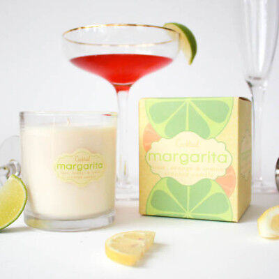 Dessert candles that looks Yummy Margarita Cocktail Soy Melts 5-6 oz