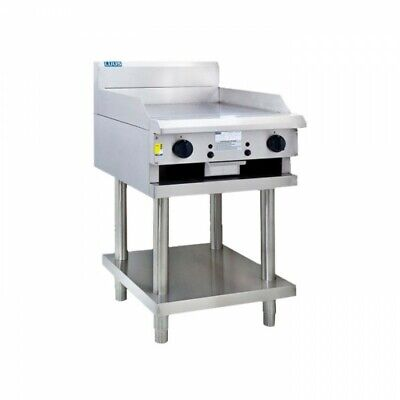LUUS Professional 600mm Gas Griddle Hot Plate Flat Top BBQ Grill CS-6P NG
