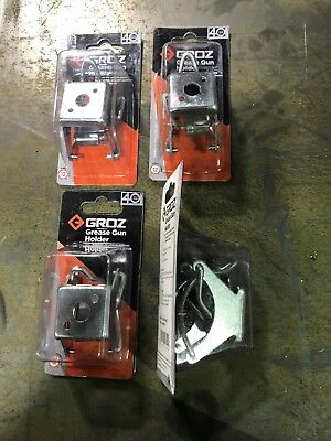 Groz Grease Gun Clip type holder x 4