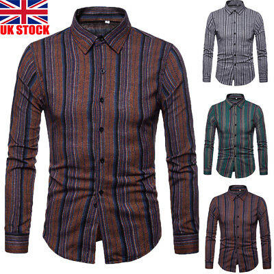 f9dc9f0912a Mens Luxury Stylish Business Casual Dress Suits Slim Fit T-Shirts Long  Sleeve