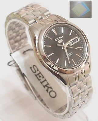 SEIKO 5 SNKL23 SNKL23J1 Men's Black Watch Made in Japan Free shipping + Gift
