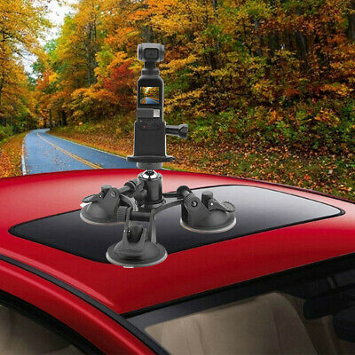 Suction Cup Car Holder Tripods Mount + Base Adapter For DJI OSMO Pocket US STOCK