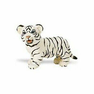 Animals & Dinosaurs Toys & Hobbies White Bengal Tiger Baby 6 Cm Series Wild Animals Safari Ltd 295029