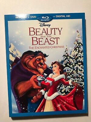 Beauty and the Beast: An Enchanted Christmas (Blu-ray/DVD) W/Slipcover