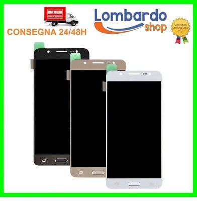 Display Lcd Touch Screen Per Samsung Galaxy J5 2016 J510 Sm-J510F Schermo Vetro