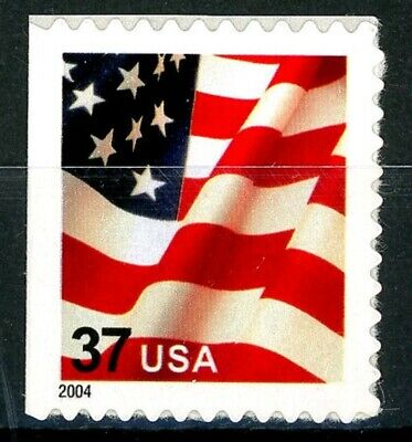 US Flag SCARCE Booklet Single Dated 2004 MNH On Original Backing Scott's 3636d