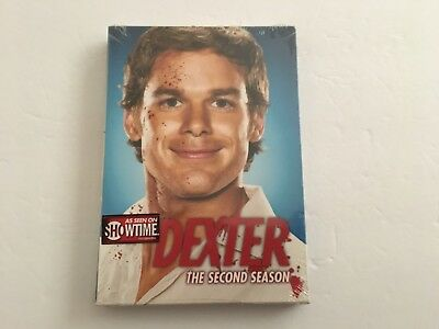Dexter - The Complete Second Season (DVD, 2008, 4-Disc Set) New