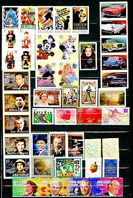 US 2008 Commemorative Stamp Year Set of 46 Different MNH Stamps - Best Value!