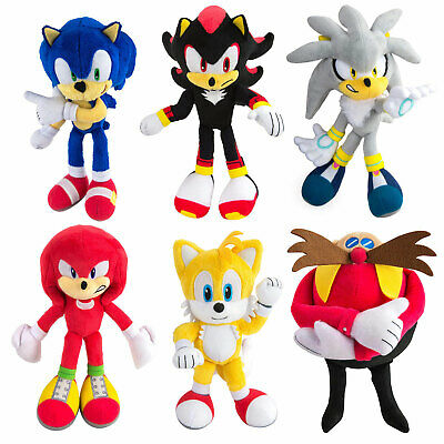 Sonic The Hedgehog 8-Inch Plush *CHOOSE YOUR FAVOURITE*