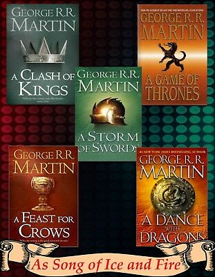 A Song of Ice and Fire (Game Of Thrones) AudioBooks Series by George R.R. Martin