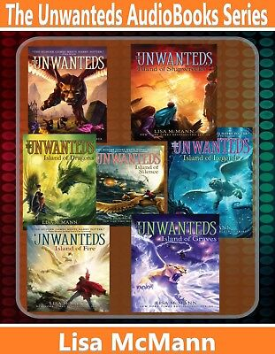 The Unwanteds Series AudioBooks Complete Collection by Lisa McMann