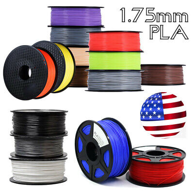 3D Printer Filament - PLA - 1.75mm - 1KG - Various Colours