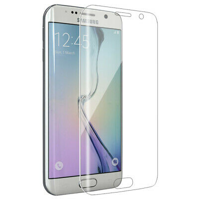 Full Tempered Glass Screen Protector for Samsung Galaxy S7 EDGE Clear Guard