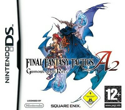 Nintendo DS game - Final Fantasy Tactics A2: Grimoire of the Rift boxed