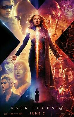 "Dark Phoenix Movie Poster Jean Grey X-Men 2019 Art Film 13x20 24x36 27x40"" Print"